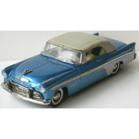 DESOTO Fireflite Covertible closed, 1956 blue/grey
