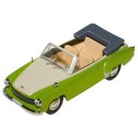 WARTBURG 311 Cabrio, 1959, green/white