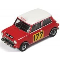 BMC Cooper S Rally MonteCarlo'67 #177, winner R.Aaltonen / H.Liddon