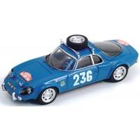 MATRA Djet 5S Rally MonteC.'66 #236, Servoz-Gavin / Leguelec