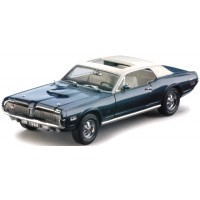 MERCURY Cougar 1968 bleu