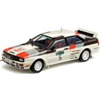 AUDI Quattro Rally Lombard'81 #5, winner Mikkola / Hertz