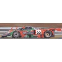 MAZDA 787B LeMans'91 #55, winner