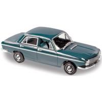 DKW F102 4-portes, 1965, vert