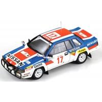 NISSAN 240 RS Rally Safari'85 #17, 3rd Kirkland / Levitan