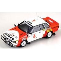 NISSAN 240 RS Rally Safari'85 #4, Metha / Combes