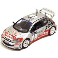 PEUGEOT 206 WRC SanRemo'02 #3, winner Panizzi