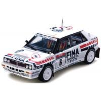 LANCIA Delta HF Integrale 8V Rally TdCorse'90 #6, Saby / Grataloup