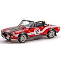 FIAT 124 Abarth Rally Sanremo'73 #12, Verini / Toriani