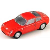 ABARTH 1300 Simca, 1964, rouge