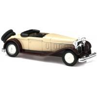DELAGE D8 Cabrio ouvert 1934