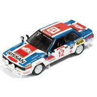 NISSAN 240 RS Rally Safari'83 #12, 4th J.Shah/A.Khah