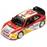 CITROËN Xsara WRC Rally Catalunya'06 #15, 2nd D.Sordo / M.Marti