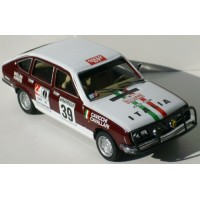 LANCIA Beta Berlina 1.8 Rally Bandama'73 #39