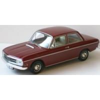 AUDI 72, 1965, rouge