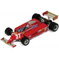 FERRARI 126 CK GP Spain'81 #27, winner G.Villeneuve