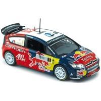 CITROËN C4 WRC TdCorse'08, Loeb / Elena