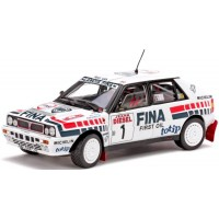 LANCIA Delta HF Integrale 16V Rally Sanremo'91, winner D.Auriol / B.Occelli