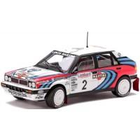 LANCIA Delta HF Integrale 16V Rally RAC'91, winner J.Kankkunen / J.Piironen