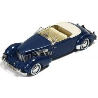 CORD 812 Cabrio, 1937, bleu
