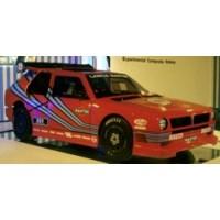 LANCIA ECV1, 1986, rouge
