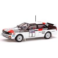 AUDI Quattro Rally RAC'82 #1, winner H.Mikkola / A.Hertz
