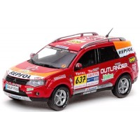 MITSUBISHI Outlander Rally Dakar'09 #637, Support Car