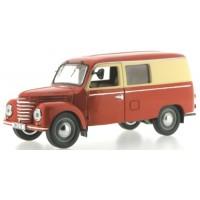 IFA Framo V901/2 Van, 1954, red