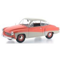 WARTBURG 311 Coupé, 1958, orange/cream