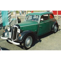 IFA F8 Limousine, 1949, green/black