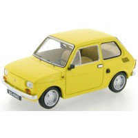 POLSKI Fiat 126P, 1973, l.yellow