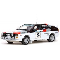 AUDI Quattro Rally Acropolis'82 #9, winner M.Mouton / F.Pons