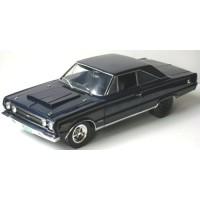 PLYMOUTH GTX, 1967, bleu