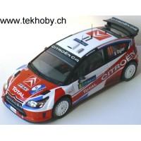 CITROËN C4 WRC Rally Ireland'09 #11, 6th S.Ogier / J.Ingrassia