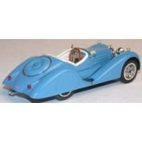 BUGATTI 35B, 1935, bleu