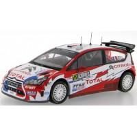 CITROËN C4 WRC Rally Acropolis'09 #12, 2nd S.Ogier / J.Ingrassia