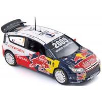 CITROËN C4 WRC Rally GreatBritain'09 #1, winner Loeb / Elena