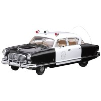 NASH Ambassador Airflyte Police Car, 1952, black/white
