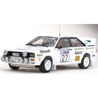 AUDI Quattro Rally RAC '82 #27, l.Lampi / P.Kuukkala