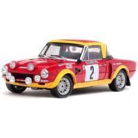 FIAT 124 Abarth Rally MonteCarlo'75 #2, 2nd H.Mikkola / J.Todt