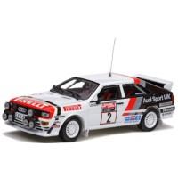 AUDI Quattro Rally Scotland'82 #2, winner H.Mikkola / A.Hertz