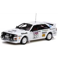 AUDI Quattro Rally RAC'82 #27, L.Lampi / P.Kuukkala