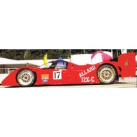 ALLARD J2X, 1993, rouge