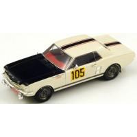 FORD Mustang Rally MonteCarlo'67 #105, H.Chemin / J.Halliday