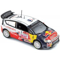 CITROËN C4 WRC Rally Var'09 #1, winner Loeb / Loeb