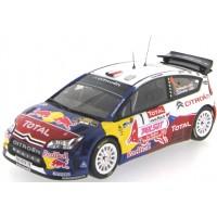 CITROËN C4 WRC Rally Var'09 #1, winner S.Loeb / S.Loeb