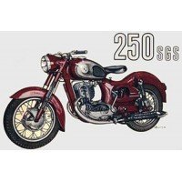 PUCH SGS 250, rouge