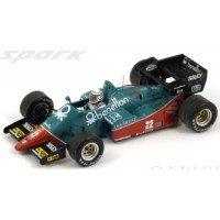 ALFA ROMEO 184T GP Italy'84 #22, 3rd R.Patrese