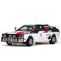 AUDI QuattroA1 Rally Safari'83 #1, 3rd M.Mouton / F.Pons