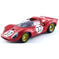 FERRARI 206s Dino Spyder Monza'66 #37, (ab) Biscaldi / Casoni